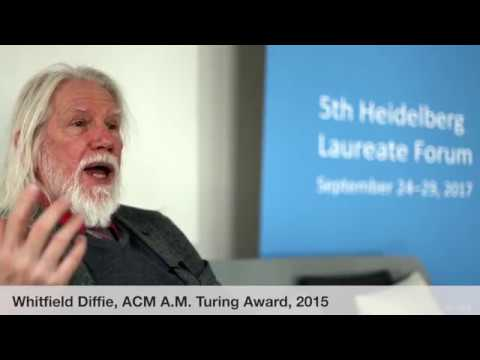 Laureate interviews at the 5th HLF: Whitfield Diffie