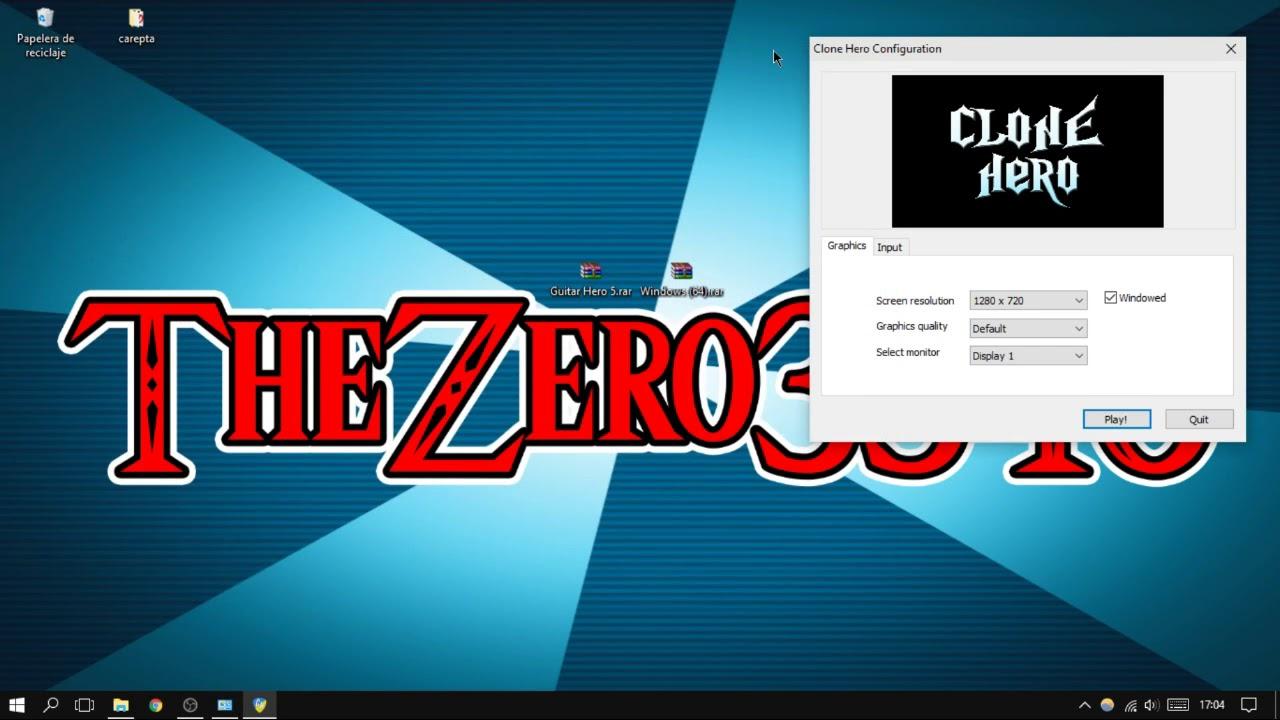 Como instalar y configurar Clone Hero