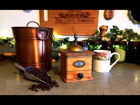 My Vintage Coffee Grinder and Other Gifts