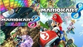 Mario Kart 8 Deuxe & Wiiu live stream / Later with Hacks!