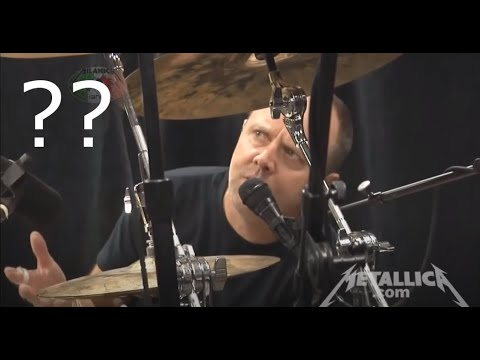 Lars can't play drums?
