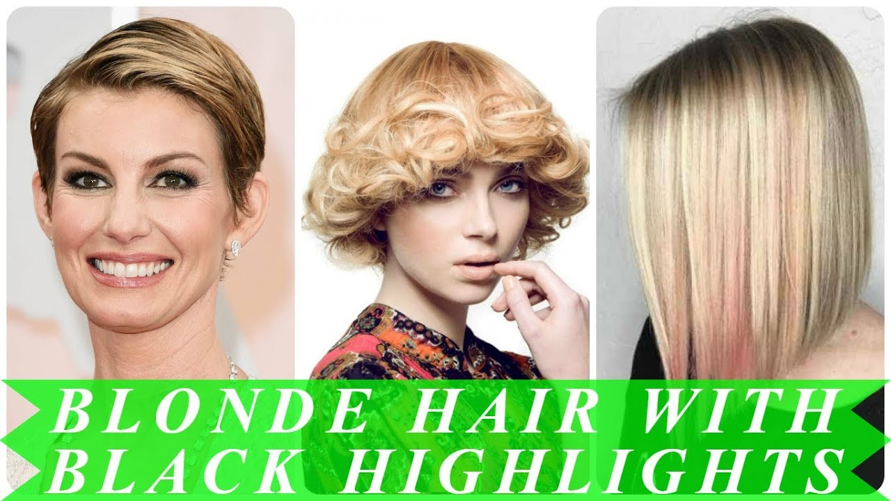 New Ideas For Blonde Hair Color And Highlights 2018 Youtube