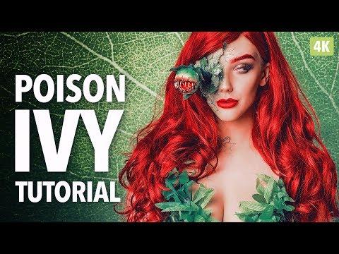 Poison Ivy SFX Makeup Tutorial