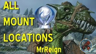 Dragon Age Inquisition - All Mount Locations - Exotics - Dracolisks - Harts - Horses
