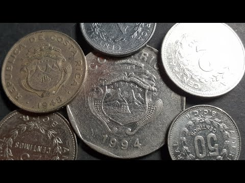 Older Costa Rica Coins