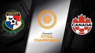 HIGHLIGHTS | Panama v Canada - CONCACAF Futsal Championship 2021