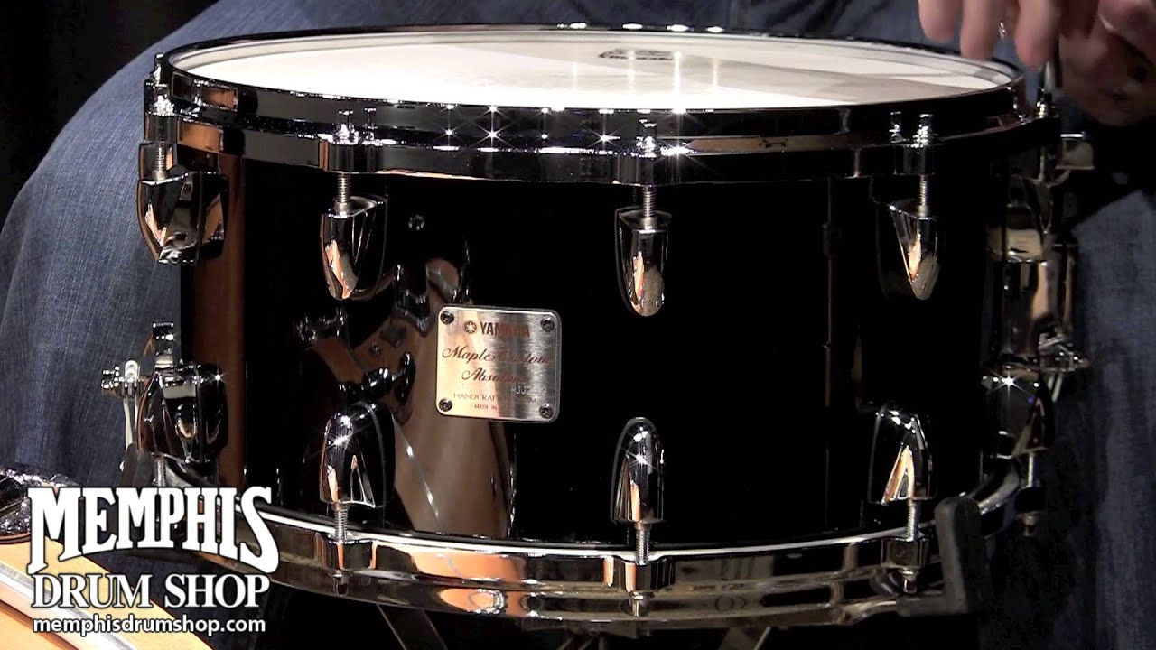 Yamaha Maple Custom Snare Drum