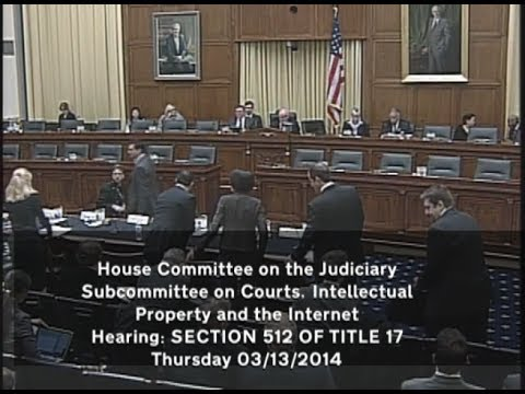 House Judiciary Committee: Section 512 of Title 17 - Mar 13 2014