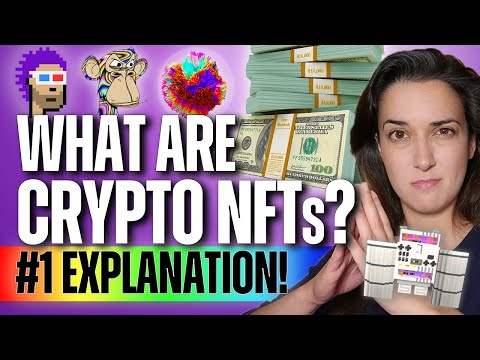 What are NFT's in Crypto? (Non-Fungible Tokens!) - Beginner's Guide