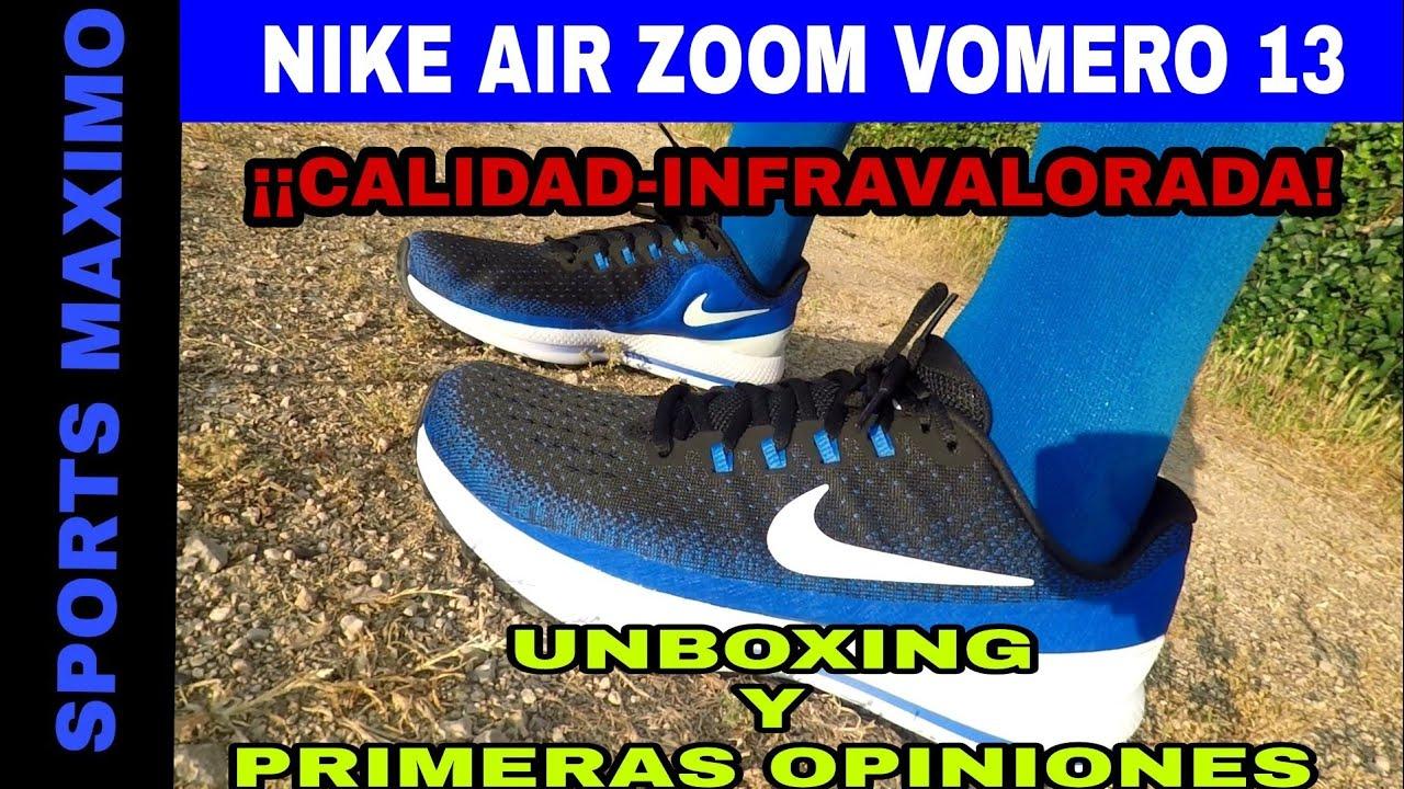 997d2e1e971e RUNNING.UNBOXING NIKE AIR ZOOM VOMERO 13 Y MIS PRIMERAS OPINIONES ...