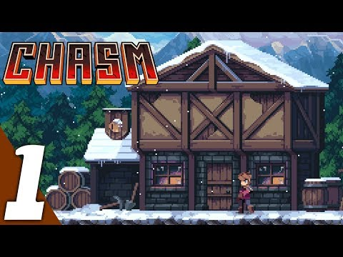 Chasm Gameplay part 1: Karthas Mines Floor One (No Commentary)