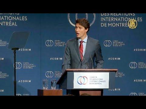 特魯多:加拿大有30萬人在香港  中共不要搞錯了 我們將永遠捍衛權益 不向中共退縮
