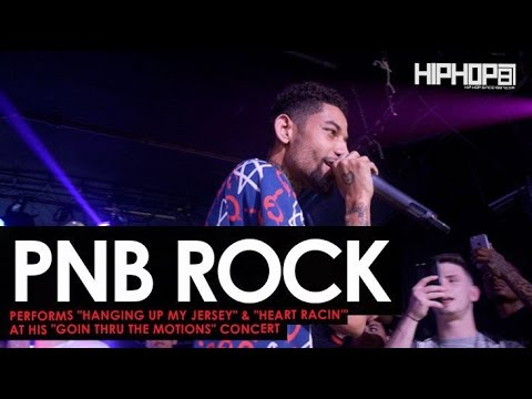 PnB Rock Performs Hanging Up My Jersey & Heart Racin at His GTTM: Goin Thru The Motis Show