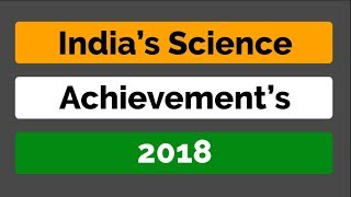 Download INDIA's Science achievements 2018   Hindi Mp3 and Videos