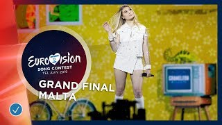 Malta - LIVE - Michela - Chameleon - Grand Final - Eurovision 2019