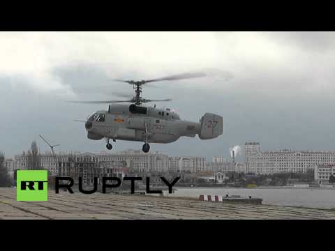 Russia: Check these STRAPPED Ka-28 choppers headed for Vietnam