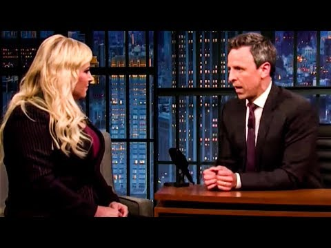 Seth Meyers ROASTS Meghan McCain's Idiocy To Her Face