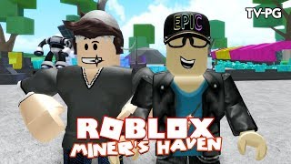 WE ARE BILLIONAIRES | Roblox Miner's Haven w/Chrisandthemike
