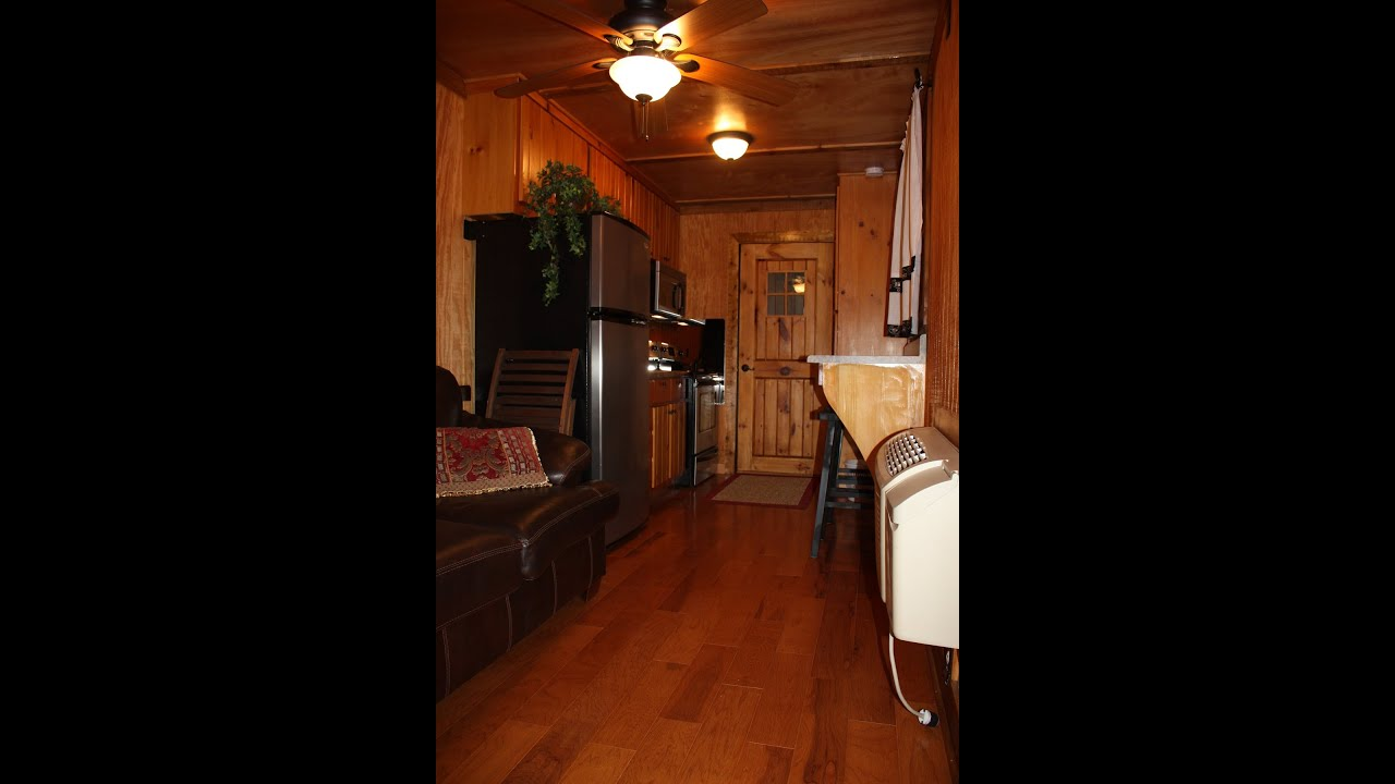 Hunting Cabin 4 Sale, Shipping Container Living, RV, Tiny House, Hunter  Camp   YouTube