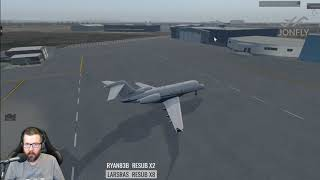 Bombardier Challenger 300 v2 Captain Edition XP11 Test Day 1 X-Plane