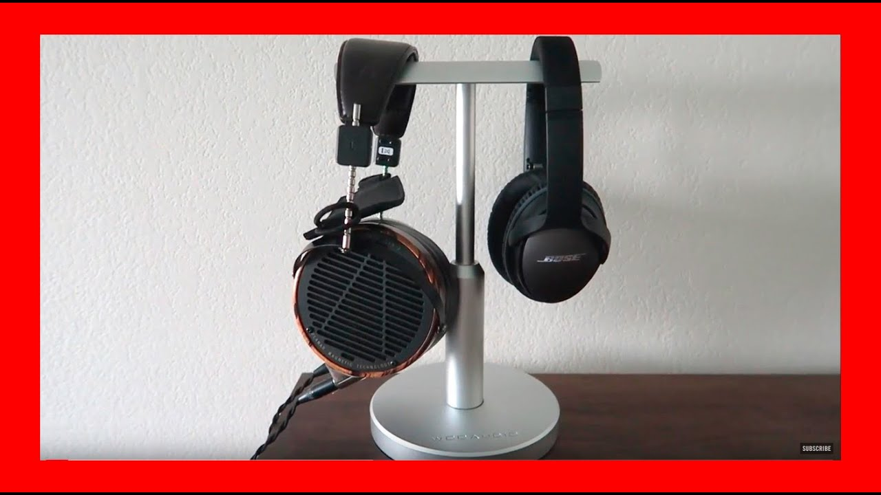 Woo audio dual headphone stand review hps ts youtube - Woo headphone stand ...