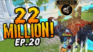 Runescape: FIRST 22 MILLION XP! & NEW Lost Souls For EXTRA Bonus XP! - Progress Video #20!