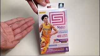 Panini 2017-18 Status Basketball Cards Hanger Box Exclusive Unboxing