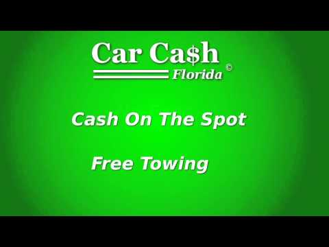 Cars for cash, Sell My Used, Old, Junk Car.  From Daytona Beach to Orlando Florida