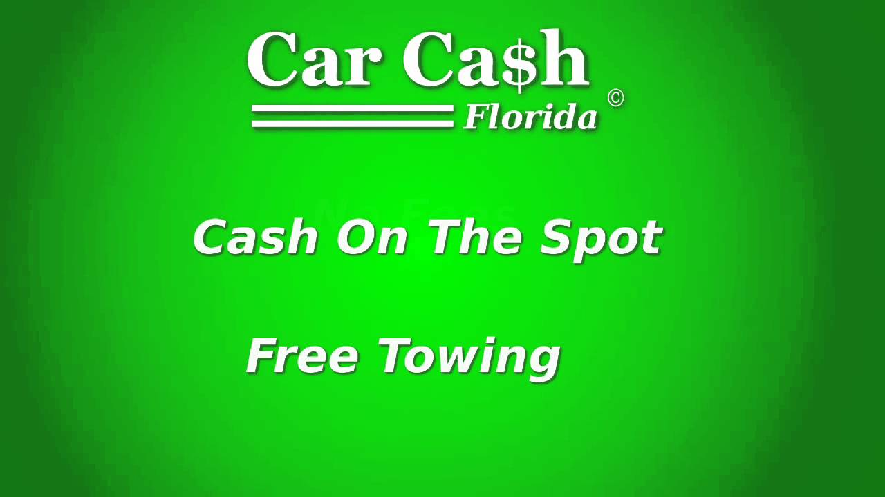 Cars for cash, Sell My Used, Old, Junk Car. From Daytona Beach to ...