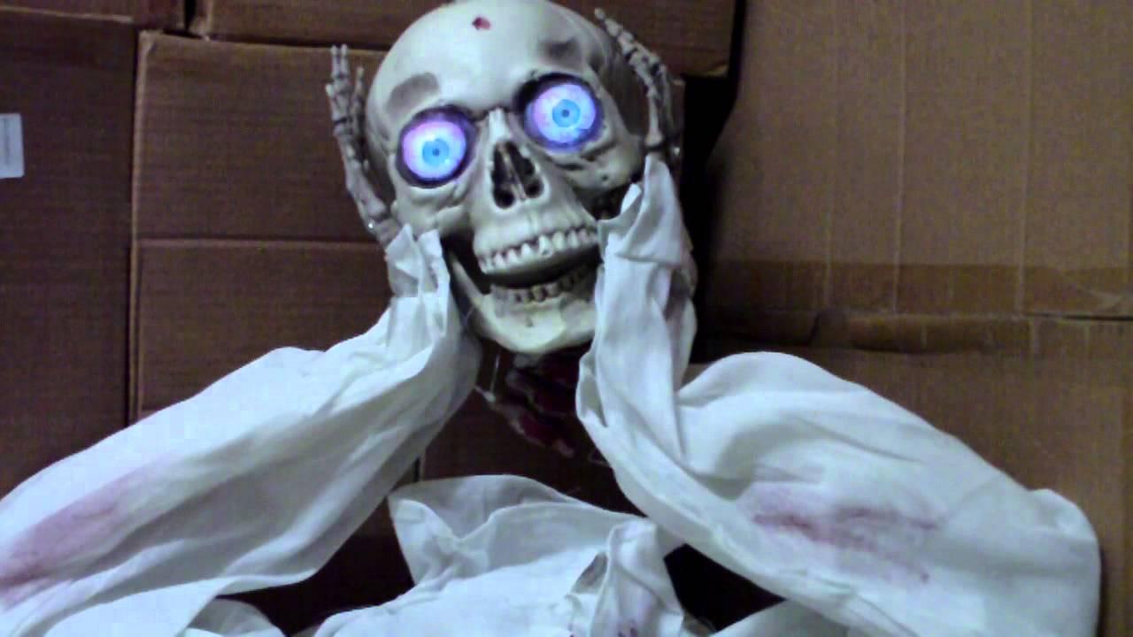 Halloween Kopfloser Stehende Oder Hangende Figur Dekoration Youtube