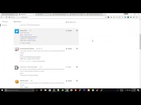 Chrome Extension Tutorial 7: Creating Twitter Feed API - Part 2