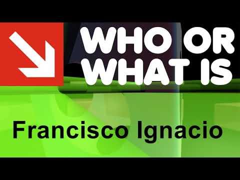 Who or What is Francisco Ignacio Alcina?