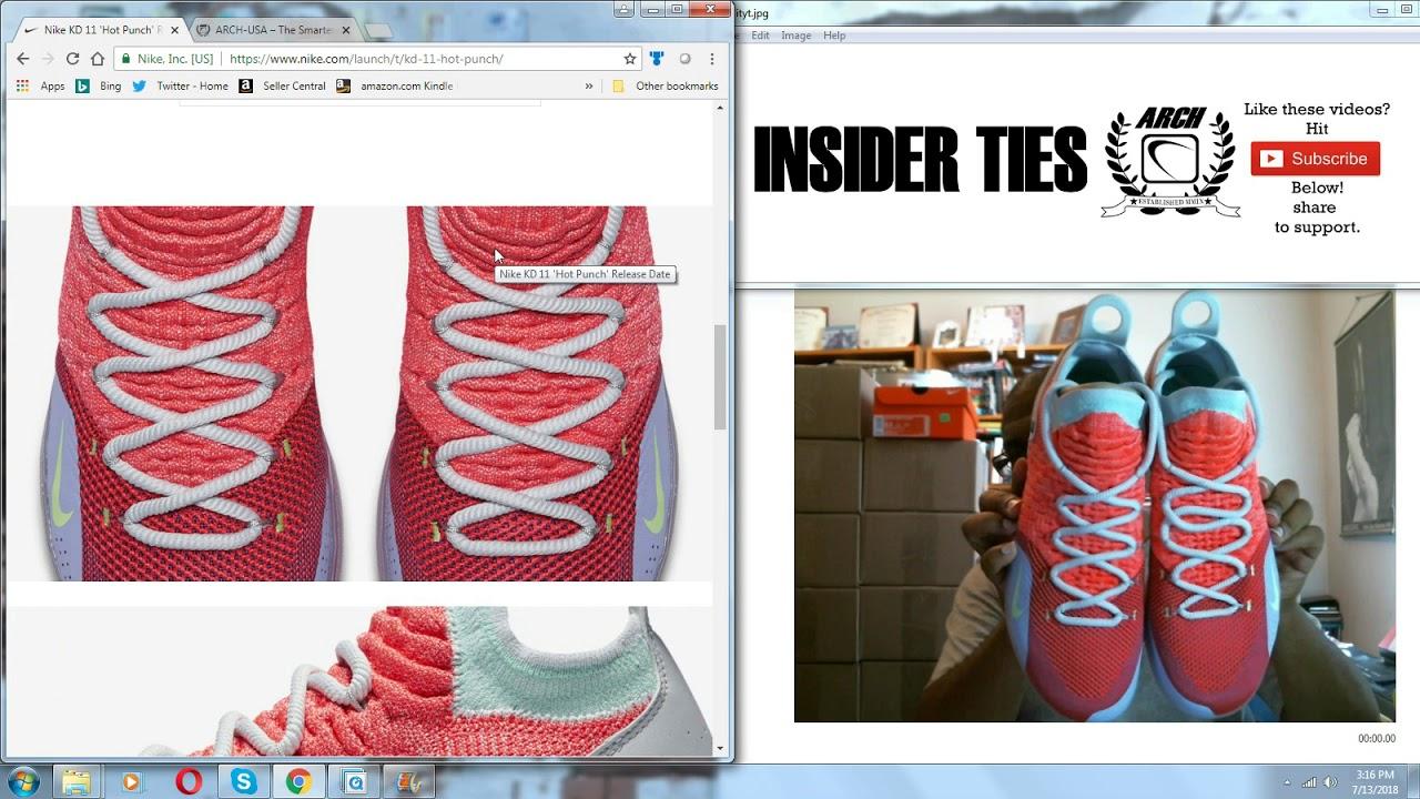 88284ecdf645 Insider Ties  Ep. 116  July 13th and Nike KD 11 Peach Jam EYBL ...