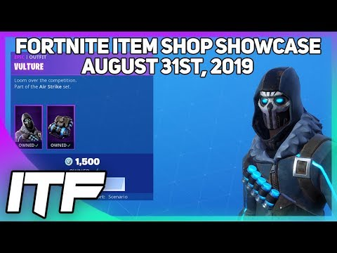 Fortnite Item Shop *NEW* VULTURE SKIN SET! [August 31st, 2019] (Fortnite Battle Royale)