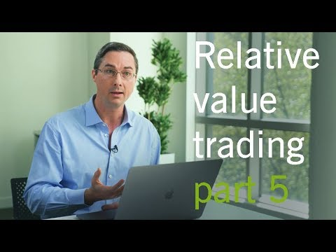 Relative value trading – The role and deployment of execution algorithms