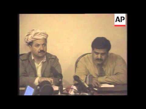 Iraq - KDP leader Barzani on Kurdish problem