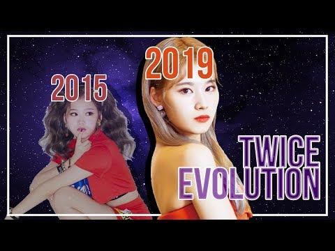 TWICE EVOLUTION   - 2019