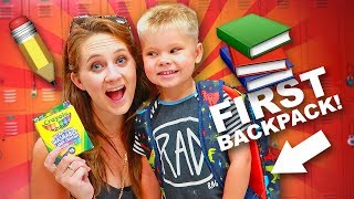 First back to school shopping! ???? pre-school supplies haul! ✏️