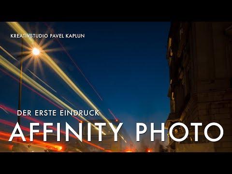 Mein erster Eindruck: Affinity Photo