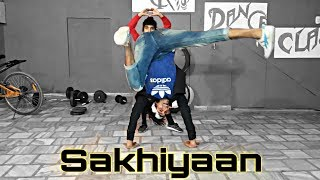 Sakhiyaan : Maninder buttar || Dance Video || Ck_kishor Choreography
