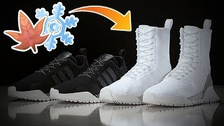 AN ADIDAS NMD BOOT??? WINTER READY ADIDAS SNEAKER THAT LOOKS LIKE AN NMD!!! ( Releasing Soon! )