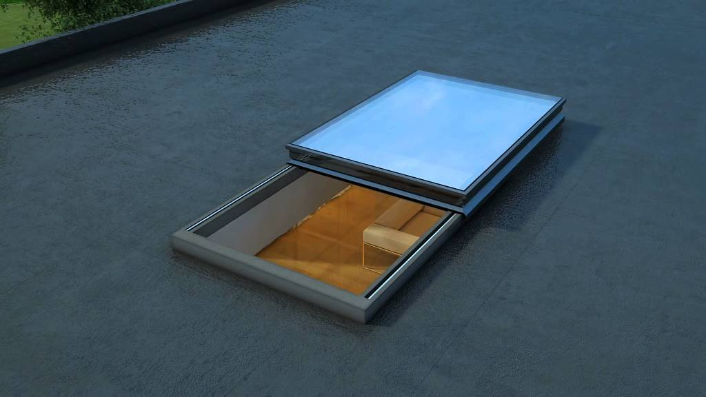Design Presentation Of Smart Sliding Skylight .mov