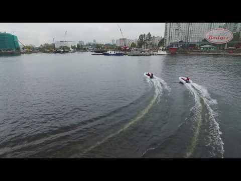 Badger Air Line 2017 - новая лодка ПВХ с надувным дном низкого давления