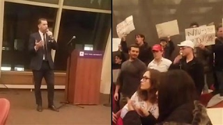 Conservative Speaker Sparks NYU Protests