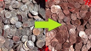 How to Clean Fountain Coins in Only Ten Minutes