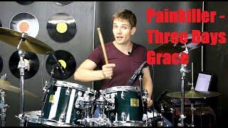 Painkiller Drum Tutorial - Three Days Grace