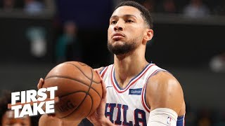 Ben Simmons' jump shooting will not be a liability in the NBA playoffs - Max Kellerman | First Take