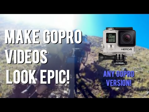 How To Make GoPro Videos Look Better! | GoPro Color Correction Tutorial EASY 2016!