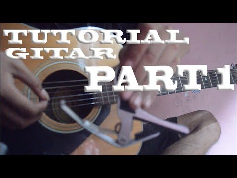 Tutorial Gitar Stand Here Alone - Mantan (With Capo) #Part1