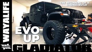 Jeep Gladiator Truck Build by EVO Manufacturing - The Beginning of a Badass JT Pickup